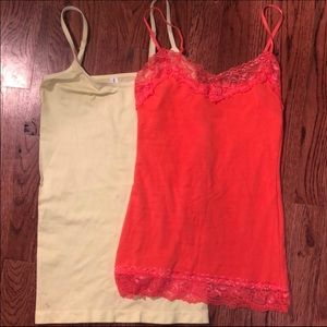 Yellow Charlotte Russe Cami